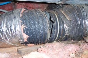How To Seal Leaks In Your Duct Work Fixityourselfac Com